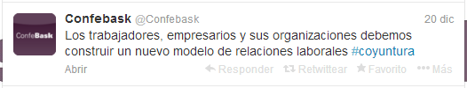 Tweet Confebask