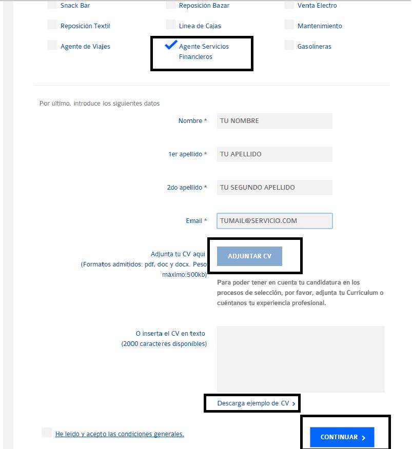 Cómo buscar trabajo en Carrefour y enviar tu curriculum