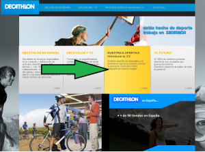 enviar curriculum a decathlon