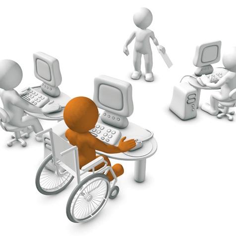 trabajo a discapacitados