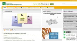 Oficina Virtual de Empleo del Servicio Andaluz de Empleo