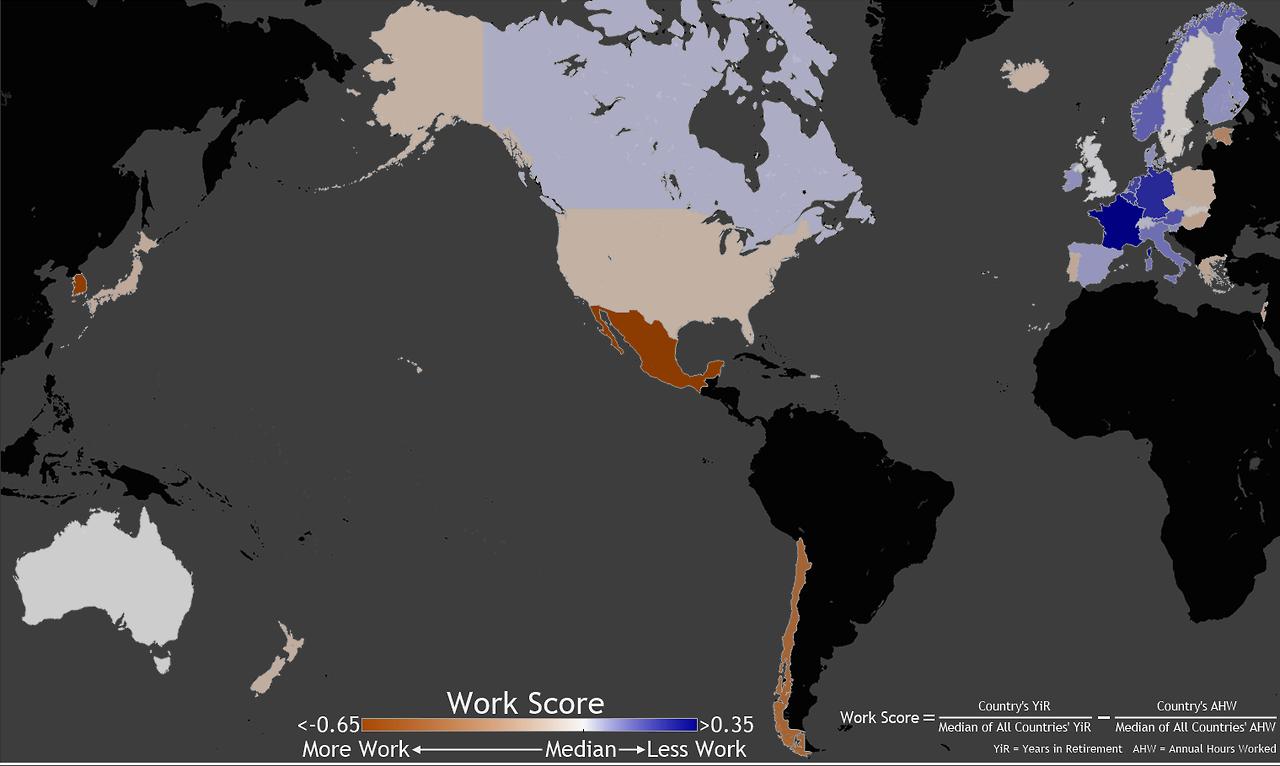 Mapa horas de trabajo