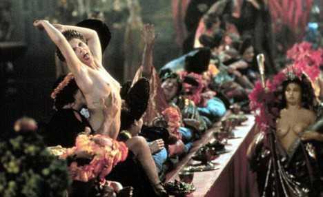 ROMAN ORGY SCENE IN THE FILM - CALIGULA (1979) 01/05/1979 CTD118