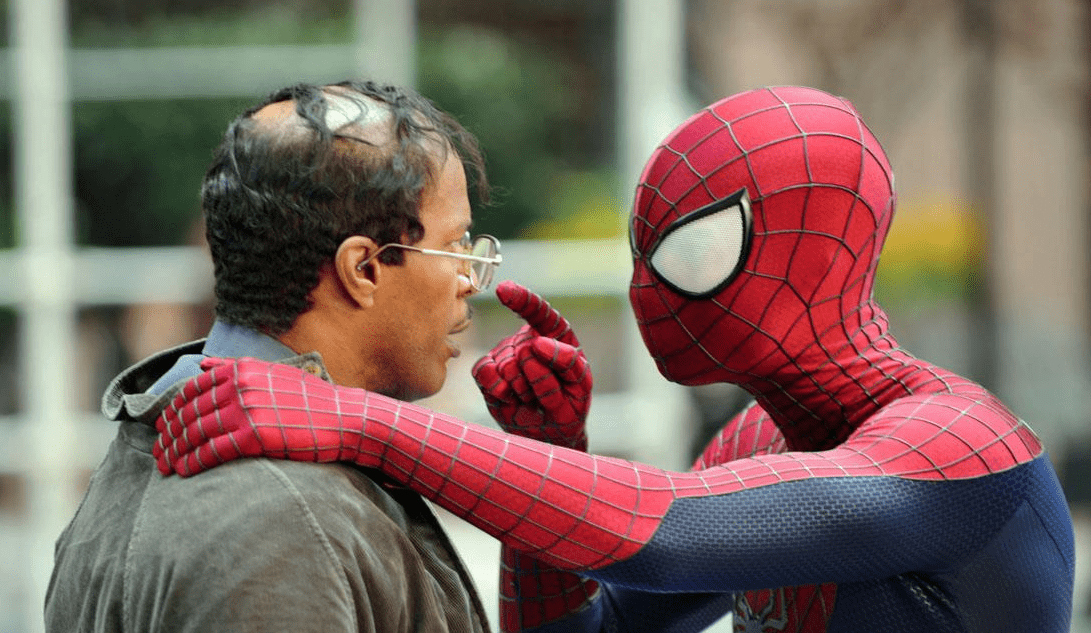 The-Amazing-Spider-Man-2-Set-images-Jamie-Foxx-Andrew-Garfield