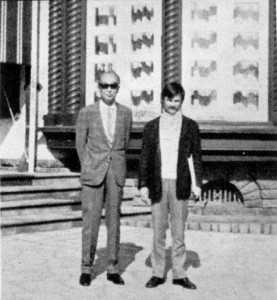 Tarkovski y Kurosawa, juntos en una fotografía