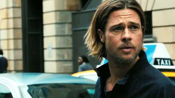 Brad Pitt vuelve a mostrar melena en Guerra Mundial Z (2013)