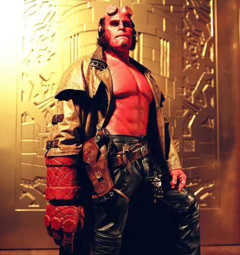 Ron Perlman stars as Hellboy. Photo credit: Columbia TriStar Films