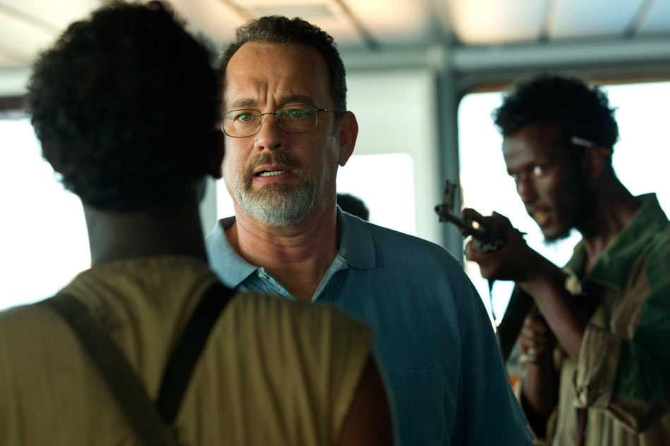 capitán phillips con Tom Hanks