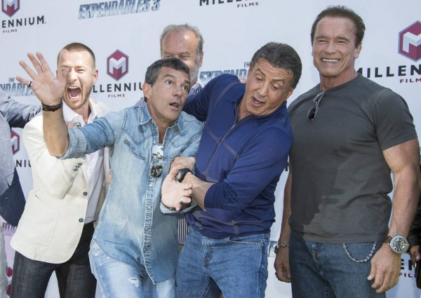 The Expendables 3 Photocall - 67th Cannes Film Festival