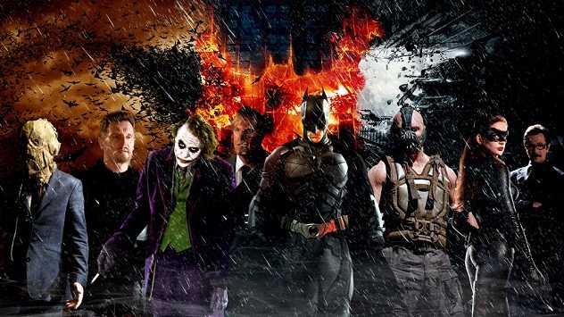 Resultado de imagen de batman christopher nolan