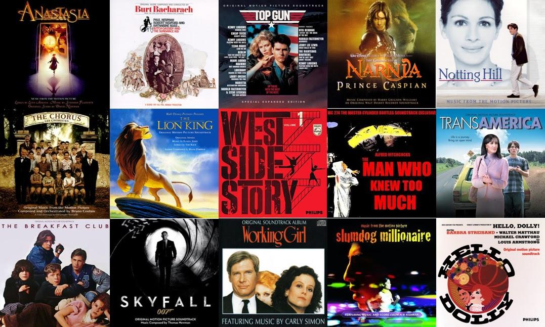 Las 55 mejores Bandas Sonoras de la historia del cine (Parte I)