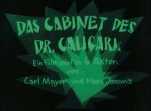 Análisis del montaje del Doctor Caligari
