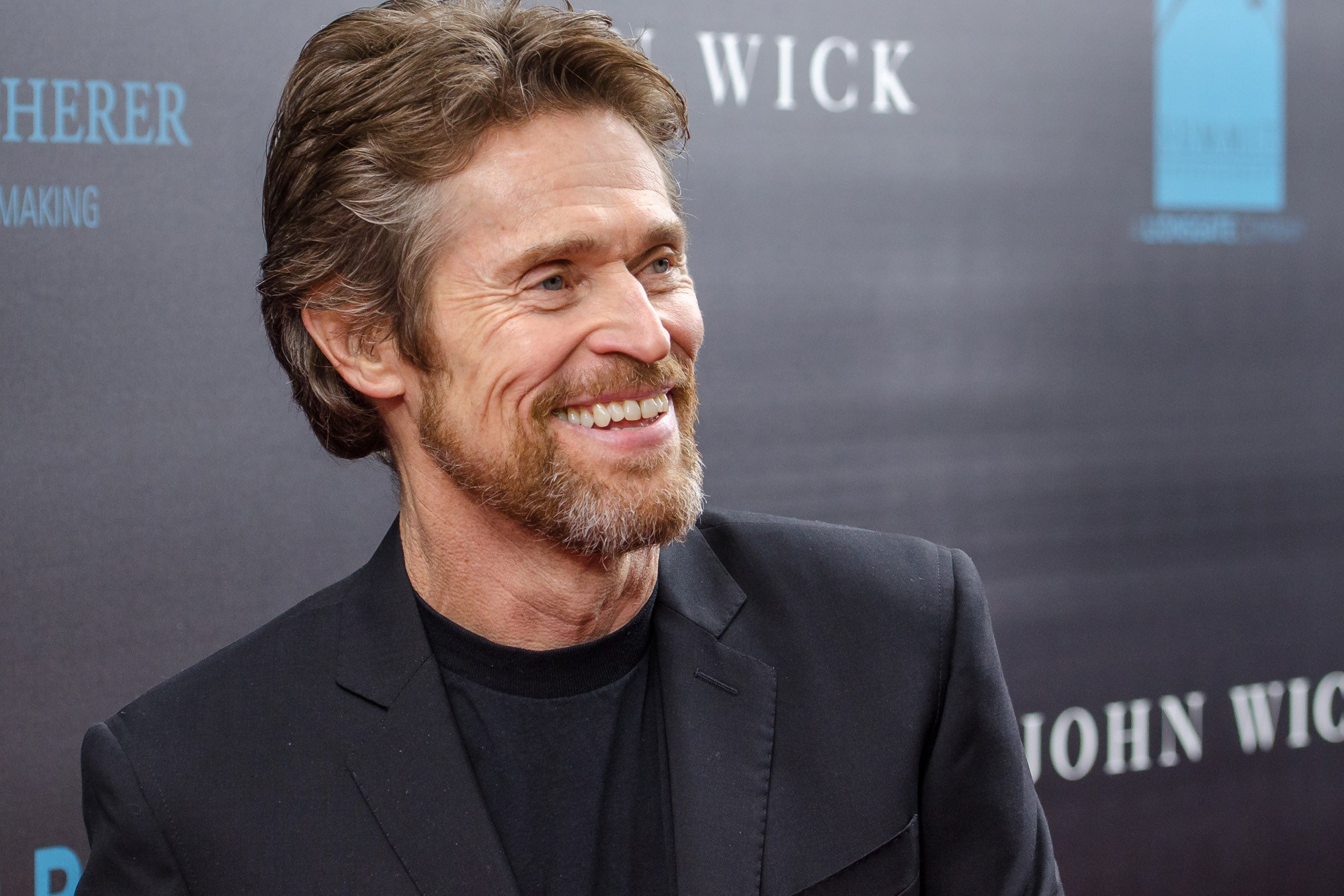 """NEW YORK, NY - OCTOBER 13:  Actor Willem Dafoe attends the """"John Wick"""" New York Premiere at the Regal Union Square Theatre, Stadium 14 on October 13, 2014 in New York City.  (Photo by Mike Pont/FilmMagic)"""