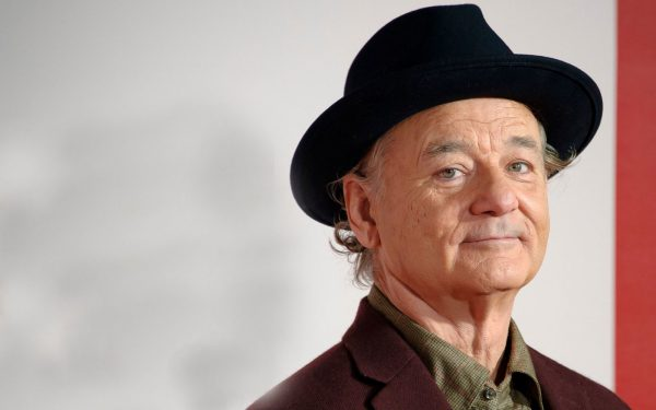 Bill Murray arrives for the UK Premiere of The Monuments Men at a central London cinema.