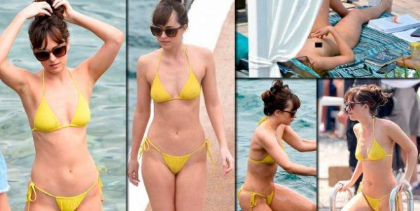 El Desnudo De Dakota Johnson Dispara La Temperatura En El Set De
