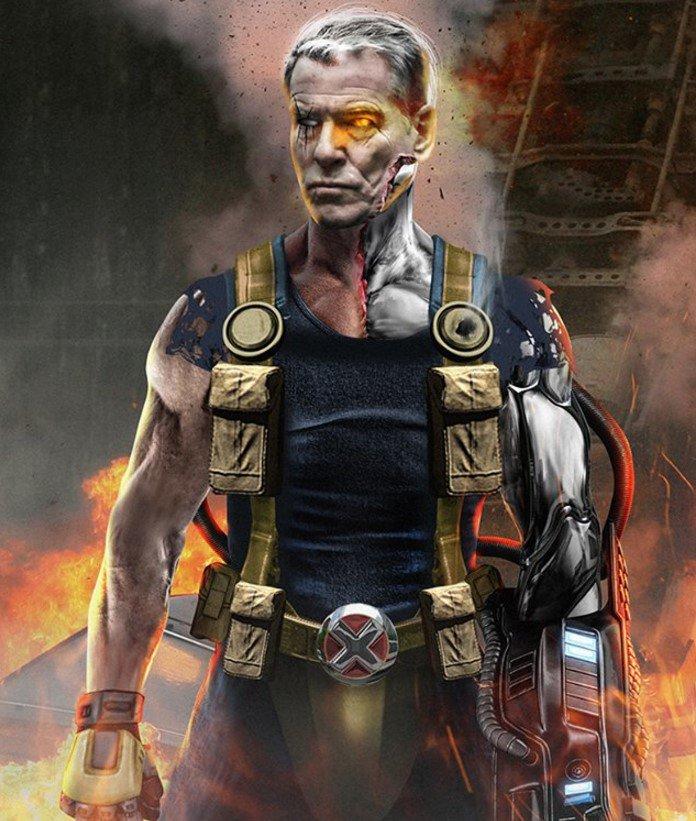 """Así luciría Pierce Brosnan en """"Deadpool 2"""" 2"""