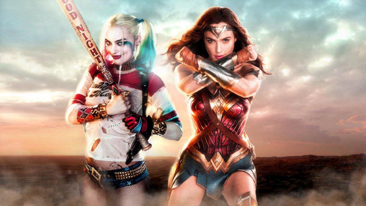 Son Harley Quinn Y Wonder Woman Lo Mejor Que Le Ha Ocurrido