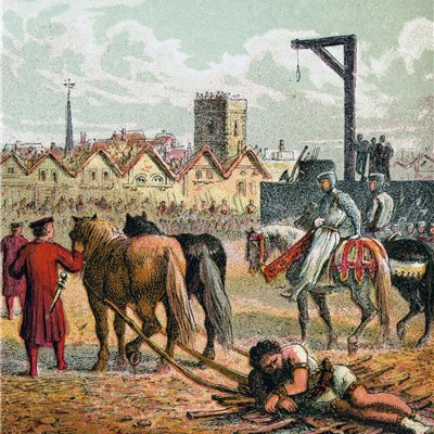 """La cruel y sádica ejecución del William Wallace real que no vimos en """"Braveheart"""""""