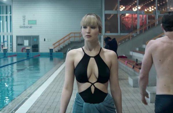 Los Desnudos Integrales De Jennifer Lawrence En Gorrión Rojo