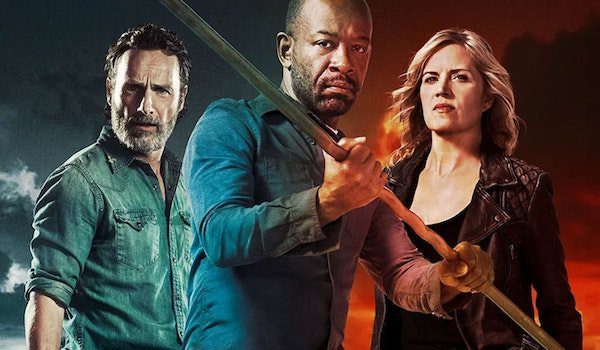 """Llega el crossover con """"The Walking Dead"""": Primer trailer de la ..."""