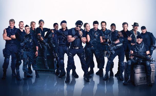 """Ya suenan los primeros nombres para """"Los Mercenarios 4"""""""