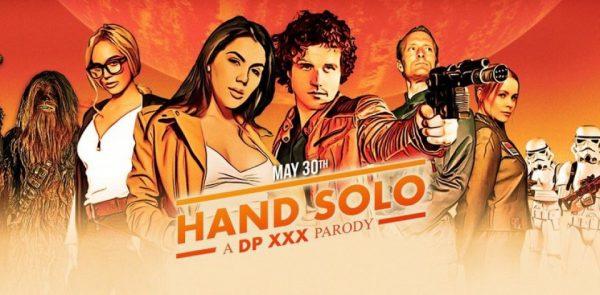 """Efectivamente, """"Han Solo: Una historia de Star Wars"""" ya tiene parodia porno"""
