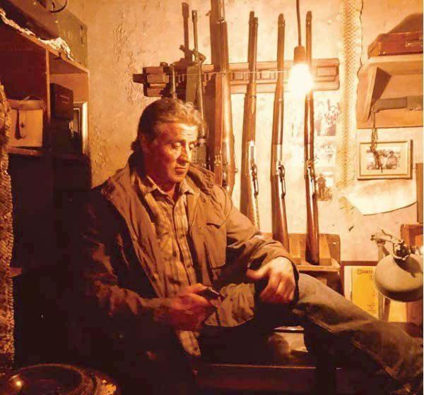 """Nuevas imágenes de """"Rambo V"""", con la flipante guarida de John 2"""