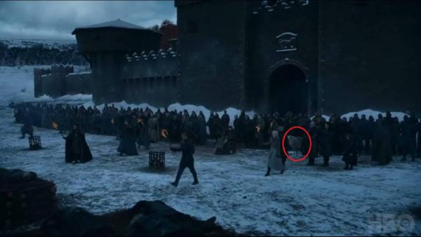 """¿Qué ha pasado con el lobo huargo Fantasma en la """"Batalla de Invernalia""""? 2"""