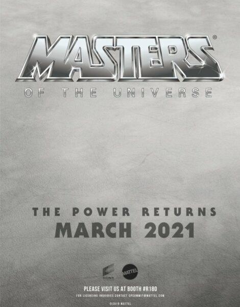 """¡""""Masters del Universo"""" lanza su primer póster y fecha oficial de estreno!"""