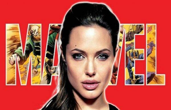 """Primeras imágenes de Angelina Jolie en su aterrizaje en el Universo Marvel con """"Los Eternos"""""""