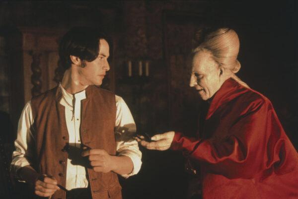 """Terribles errores de casting: Keanu Reeves en """"Drácula de Bram Stoker"""" 1"""