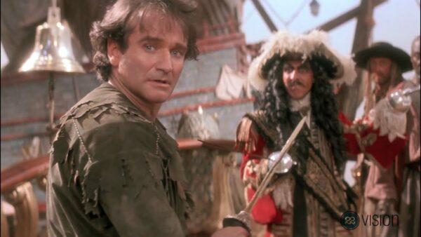 """Terribles errores de casting: Robin Williams en """"Hook"""" 1"""