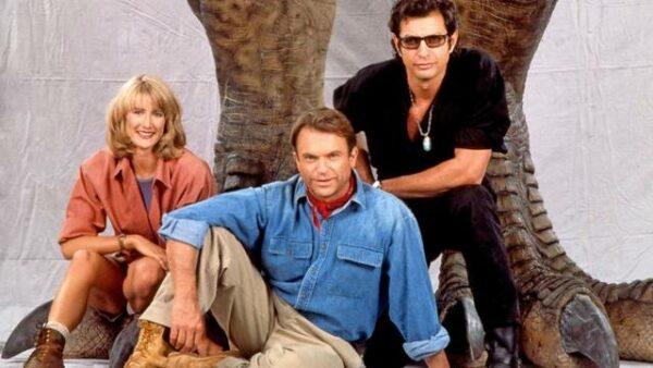 """Fotaza de los tres protagonistas de """"Jurassic Park"""" reunidos ya en el set de """"Jurassic World: Dominion"""" 1"""
