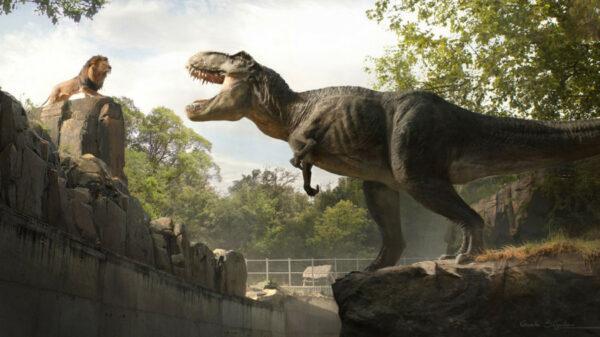 """El nuevo vídeo del rodaje de """"Jurassic World: Dominion"""" presenta un caos descomunal 1"""