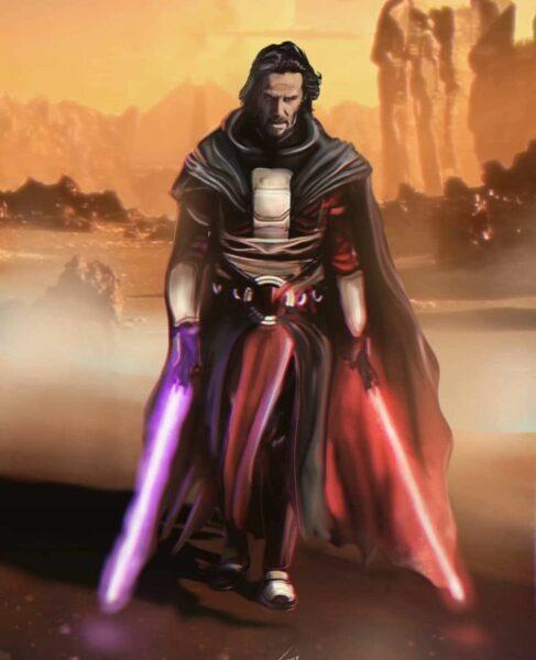 """Keanu Reeves empieza apunto de convertirse en este ilustre personaje de """"Star Wars"""" 2"""