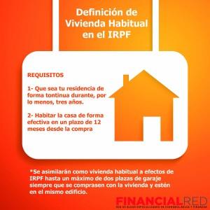 ¿Cuál es la vivienda habitual para Hacienda?