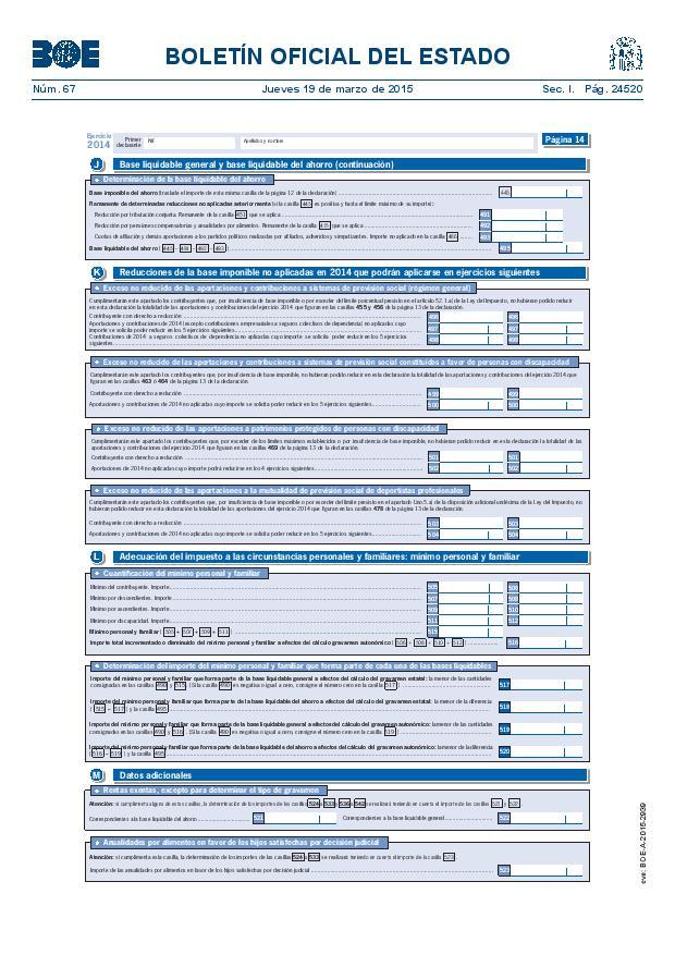 Modelo 100 Renta 2014 pagina 14