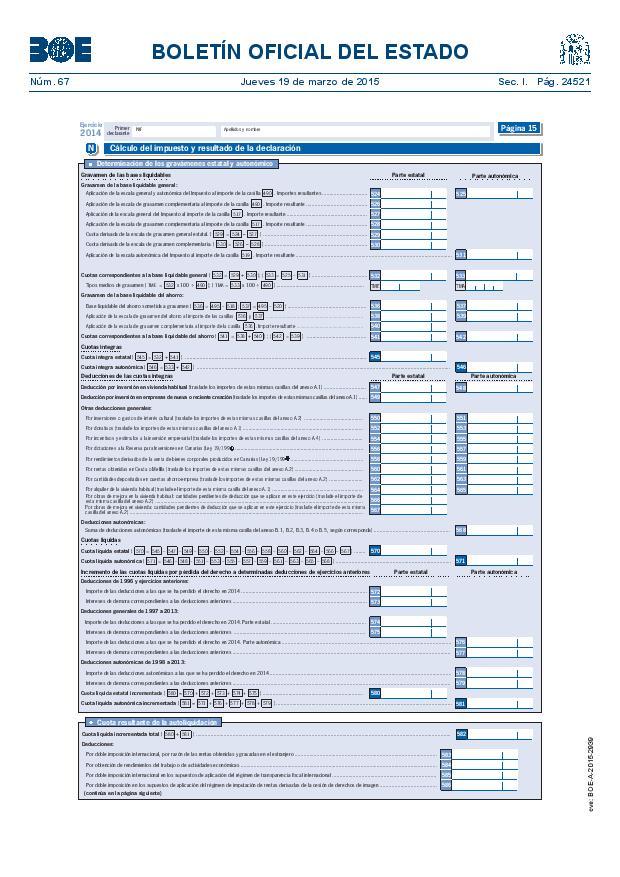 Modelo 100 Renta 2014 pagina 15