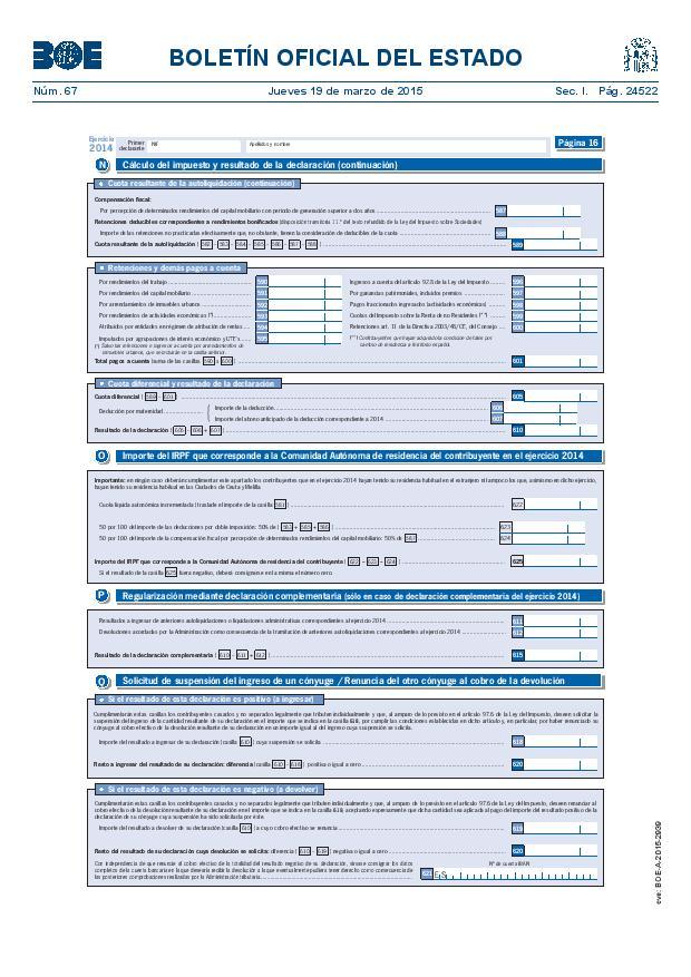 Modelo 100 Renta 2014 pagina 16