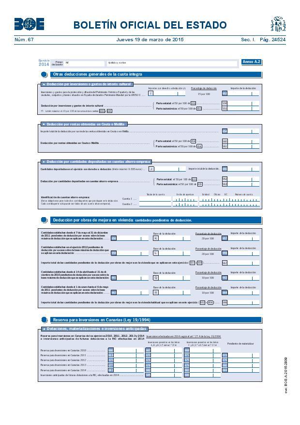 Modelo 100 Renta 2014 pagina 18