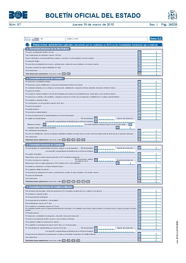 Modelo 100 Renta 2014 pagina 22