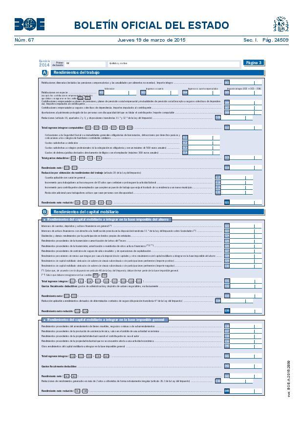 Modelo 100 Renta 2014 pagina 3