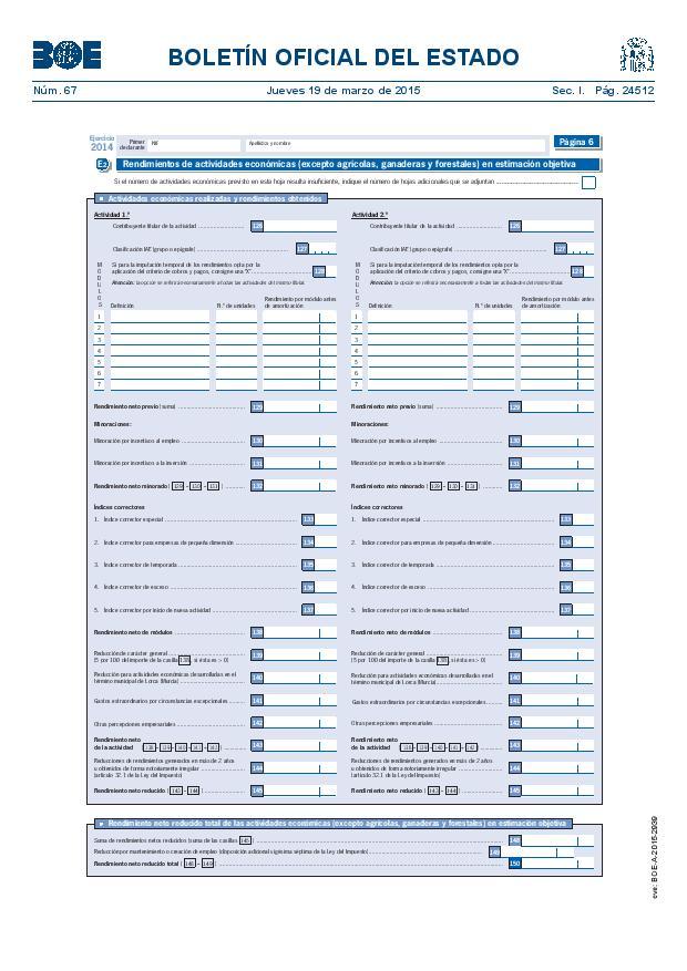 Modelo 100 Renta 2014 pagina 6