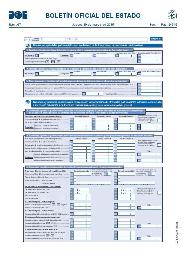 Modelo 100 Renta 2014 pagina 9