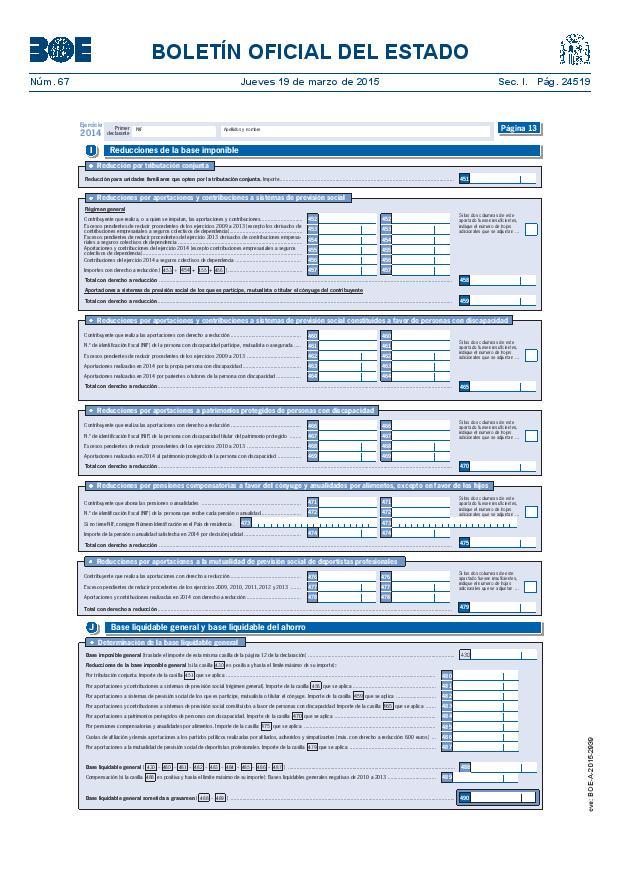 Cómo incluir los planes de pensiones en la renta 2015