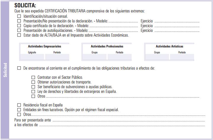 Resultado de imagen de imagenes Certificado de estar al corriente con Hacienda España