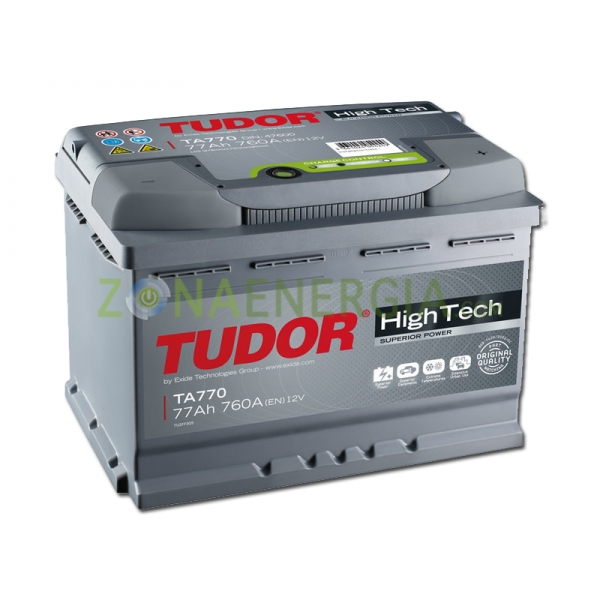 bateria vehiculo tudor ta770
