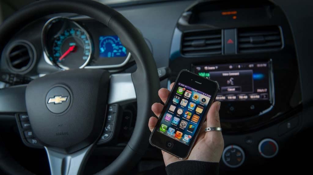 Control de voz Siri en los nuevos Chevrolet