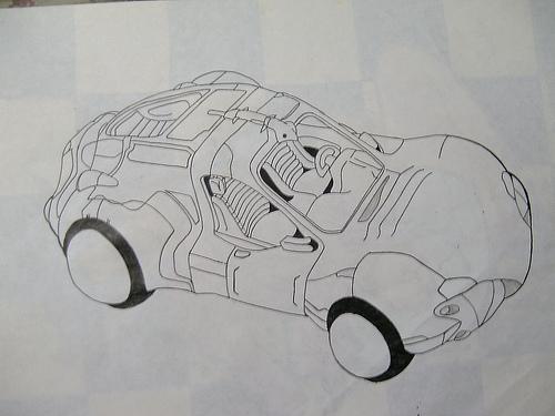 coche futurista