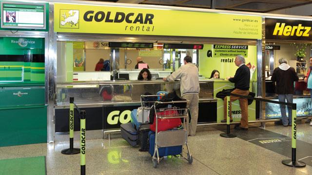 Goldcar rental oficina aeropuerto palma de mallorca for Oficina de extranjeria palma de mallorca